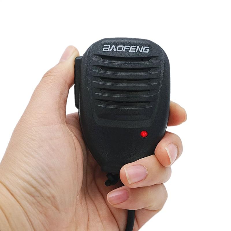 Baofeng Hand Microphone Walkie Talkie MIC Speaker Shoulder Microphone For Kenwood TYT Pofung Handheld UV-5R BF-888s Accessories