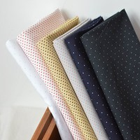 Tissus African Fabric New Products Exported To Japan Worsted Cotton Water Tamanami Point Poplin Diy Craft Dress Shirt Fabrics