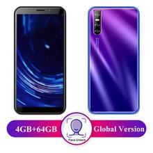 P20 Pro inteligentne telefony z systemem Android 4GB pamięci RAM 64GB ROM MTK6580 czterordzeniowy Face ID odblokowane telefony komórkowe WCDMA/GSM 6.0 cal pełny ekran HD
