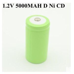 Image 1 - 10pcs 고용량 1.2v 재충전 전지 d 크기 cd ni cd 1.2v nicd 건전지 5000 mah recargable bateria 5000 mah