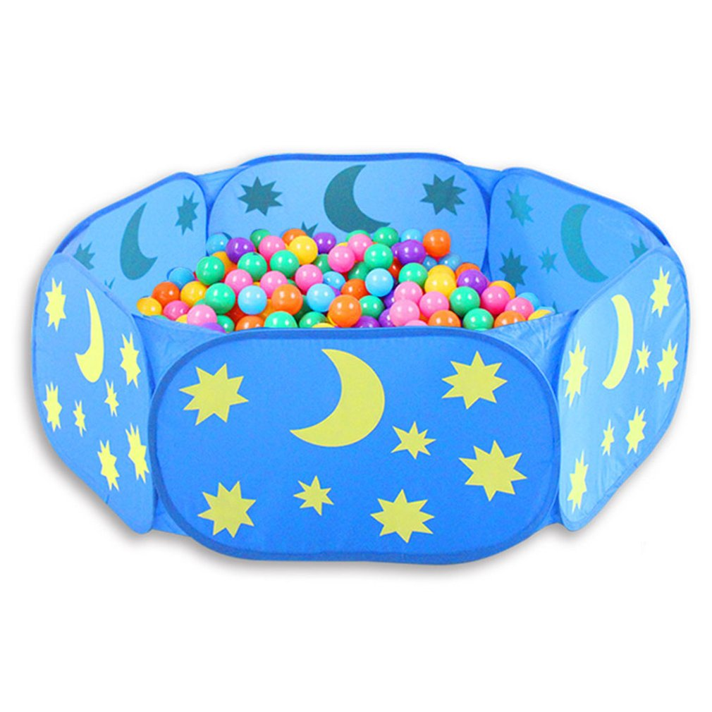 2019 NEW Foldable Baby Playpen Hexagon Star Moon Balls Pool Pit Indoor Outdoor Children Baby Toy Game Play House Kids Gift Play