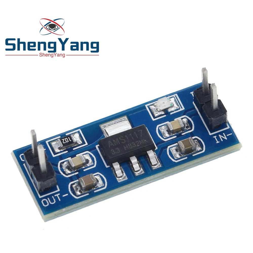 1 Pcs/lot Shengyang AMS1117 3.3V Power Supply Modul