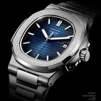 DIDUN Luxus Marke Quarz Uhren Männer Edelstahl Military Luxus Band Uhr Kausalen Mode Armbanduhr Herren männlichen Uhr männer
