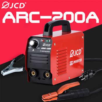 JCD 220V MIG WeldingIGBT Smart MMA Stick DC Inverter ARC 200/160A Welder with Digital LCD Display for Beginner Welding Machine