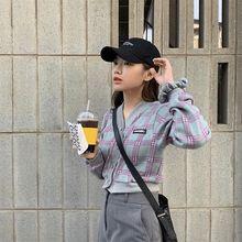 2020 кардиган в Корейском стиле с острым вырезом на одной пуговице