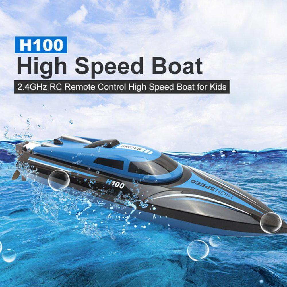 High Speed RC Boat Racing Remote Control Boat  as gift For children Toys Remote Control High Speed Boat RC Racing Outdoor