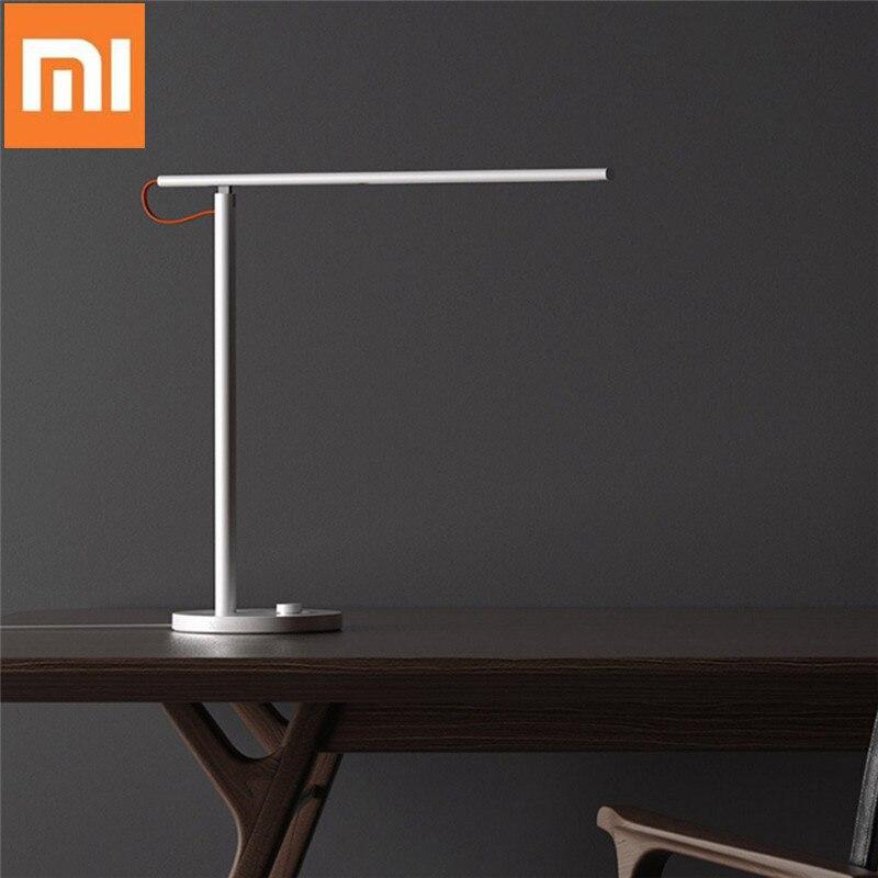 Xiaomi Mijia MJTD01SYL 9W Smart Table Desk Lamp 1S 4 Modos de Iluminação Escurecimento Luz de Leitura APP Controle Sem Fio proteção para os olhos