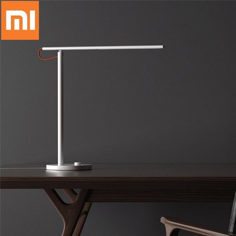Xiaomi Mijia MJTD01SYL 9W lampe de bureau de Table intelligente 1S 4 Modes d'éclairage gradation de la lumière de lecture APP contrôle sans fil Protection des yeux