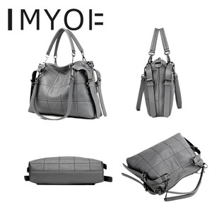 Image 3 - Fashion Designer Women Handbag Female Genuine Leather Bags Handbags Ladies Portable Shoulder Bag Office Ladies Causal Bag Totes
