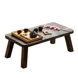 Table small tea table Japanese tatami table simple solid wood Zen window table low table couch