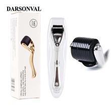 DARSONVAL DRS 540 микро иглы Дерма ролик титановый мезороллер микроиглы машина для ухода за кожей и ухода за телом
