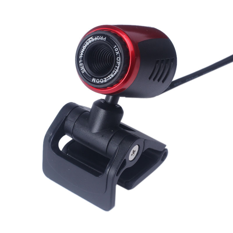 HD USB 2.0 Webcam Camera With MIC Clip-on For Computer PC Laptops In Stock