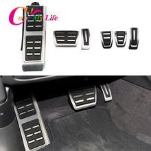 Coche de pedales de Audi A4 B8 S4 RS4 Q3 A5 S5 RS5 8T Q5 8R SQ5 A6 C7 A7 S7 S6 4G A8 S8 A8L 4H en MT Freno de combustible de reposapiés Pedal