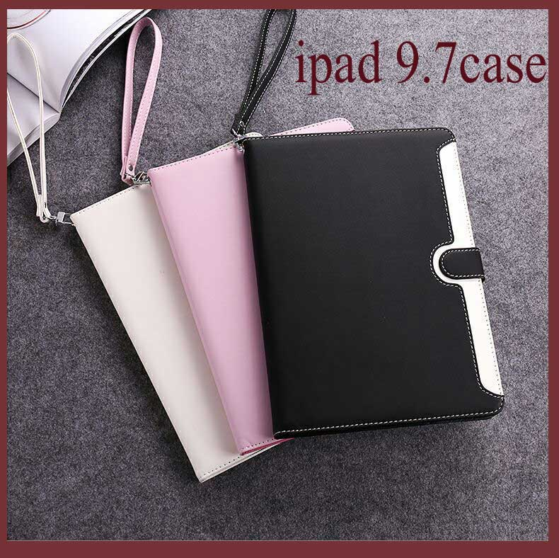 For iPad Air 2 Air 1 Case 2018 9.7 Silicone Soft Back 2017 Pu Leather Smart Cover Case for iPad 2018 6th generation Case