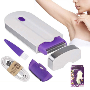 USB Rechargeable Women Epilator Portable Hair Removal Tool Rotary Shaver Body Face Leg Bikini Lip Depilator Hair Remover Laser(China)