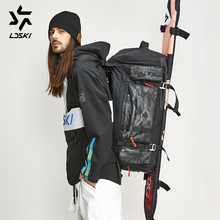 Ski Bag Snowboard bag winter sports travel bag DWR shell Boot & Helmet sections shoulder strap light weight easy access storage