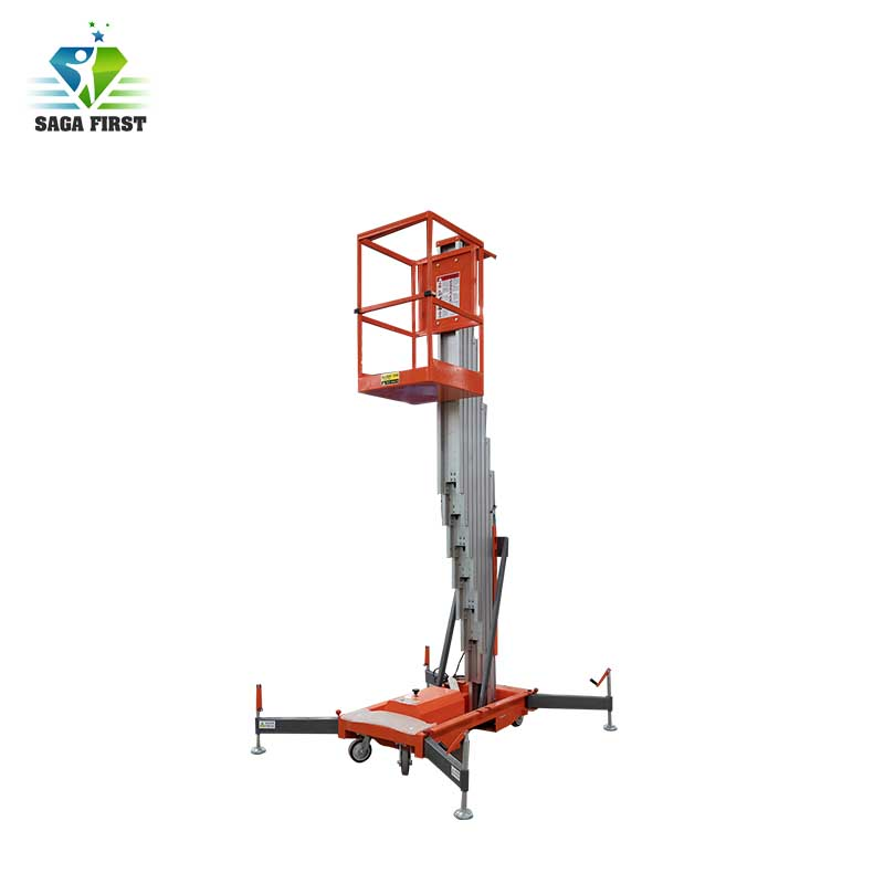 Electric Mobile Hydraulic Aloft Work Platform Aerial Lift
