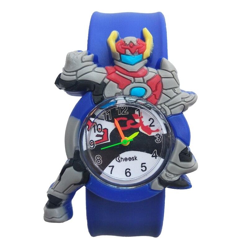 Wristwatches Baby Quartz Sports Kids Student Cartoon Hero for Children Gift Watch-Clock