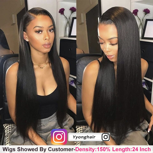 Image 4 - 1x6 T Part & 13x4 Lace Front Wigs 10 26inch Pre Plucked Peruvian Lace Front Human Hair Wigs With Baby Hair Remy Lace Wig 120%