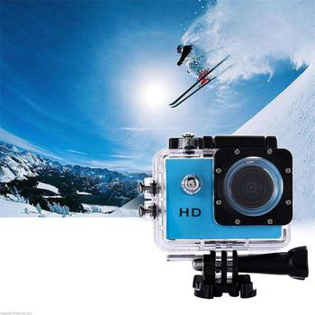 Ultra HD 4K Video Su Geçirmez WIFI Kamera Açık Eylem Spor Kamera 1080P DV Kamera Geniş Açı 170 Derece Geniş Açı 2.0 Inç