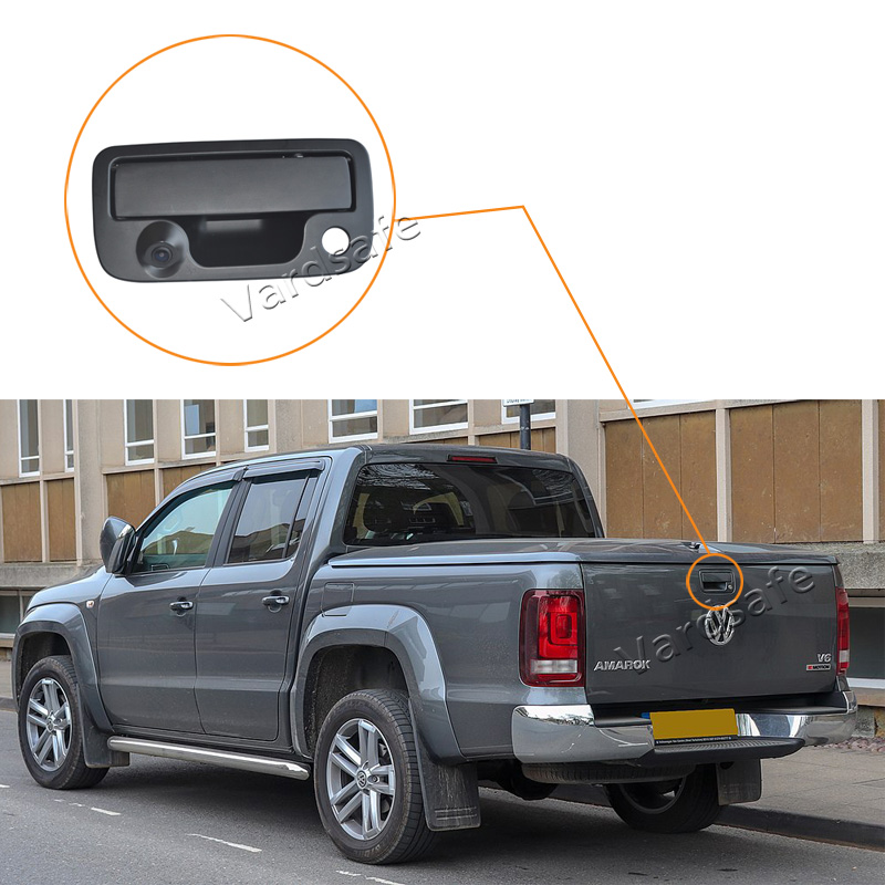Vardsafe VS236 Tailgate Handle Rear View Camera For Volkswagen VW Amarok