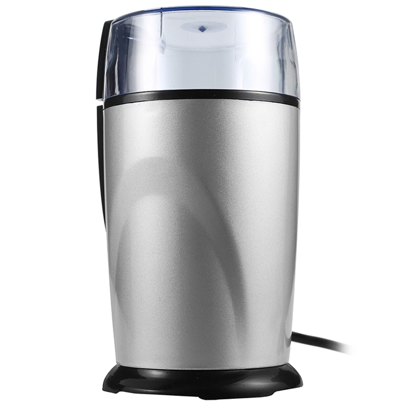 Top Deals Electric Coffee Grinder Spice Maker Stainless Steel Blades Coffee Beans Mill Herbs Nuts Cafe Home Kitchen Tool Eu Plug