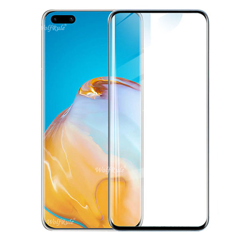 For Glass Huawei P40 Pro Tempered Glass Full Cover Protective Glass Screen Protetor For Huawei P40 Pro For Huawei P 40 Pro Glass
