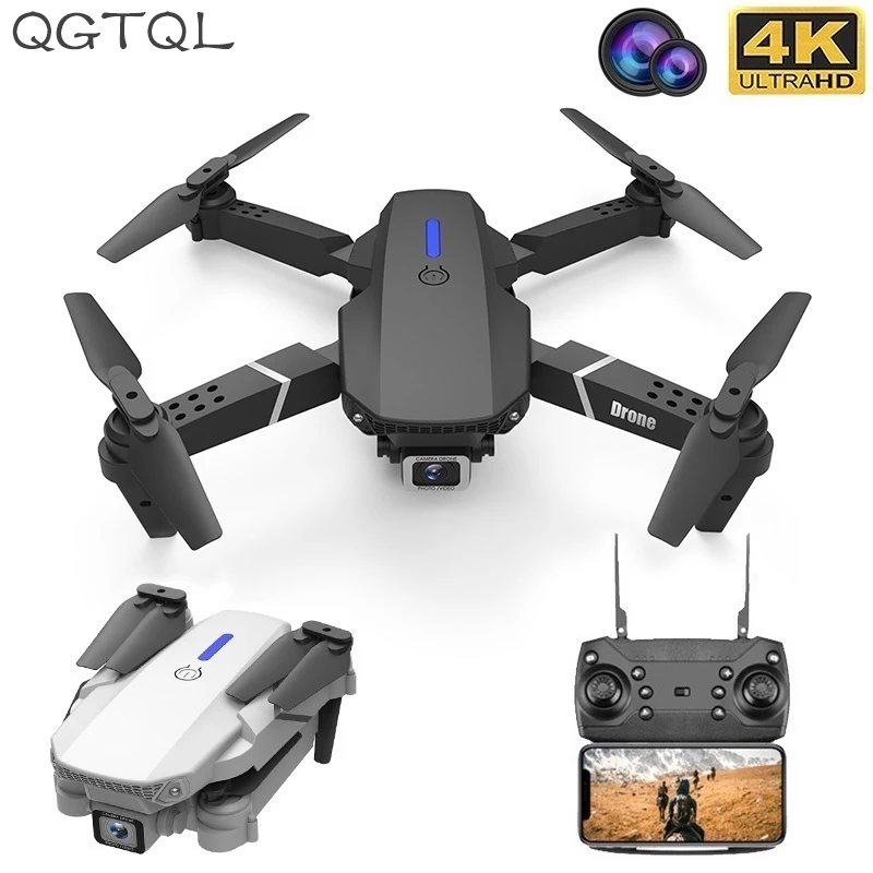 LSRC 2020 New Quadcopter Drone E525 HD 4K 1080P Camera And WiFi FPV Height Maintaining RC Foldable Quadcopter Drone Gift Toy 1