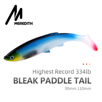 MEREDITH Bleak Paddle Tail – 120mm 4kpl