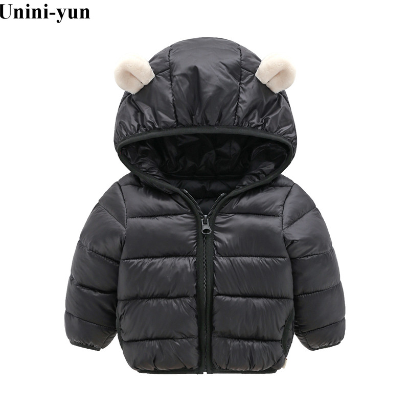 Fashion Autumn Winter Jacket For Boys Children Jacket Kids Hooded Warm Outerwear Coat For Boy Clothes 2-7 Year Baby Boys Jacket