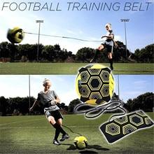 Allenamento di calcio regolabile del dispositivo di addestramento di calcio dei bambini adulti con l'attrezzatura ausiliaria di addestramento di calcio per i principianti # Z