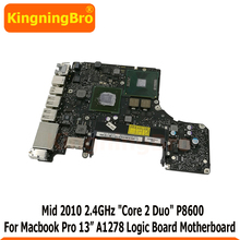Macbook P8600 820-2879-B A1278 for Pro 13-Logic-Board Mid Original
