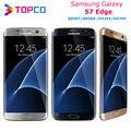Разблокированный Samsung Galaxy S7 edge, версия для США, G935V/A/T/P, LTE, Android, смартфон с четырёхъядерным процессором, экраном 5,5 дюйма, камерой 12 МП и 5 МП, ОЗ...
