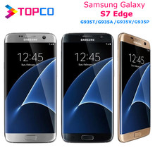 Samsung galaxy smartphone s7 edge, telefone celular, versão eua, g935v/a/t/p, desbloqueado, lte, android, quad core 5.5