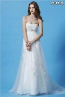 free shipping new Fashion dinner 2013 maxi crystal brides maid bridal belt vestidos formales white long lace Bridesmaid Dresses