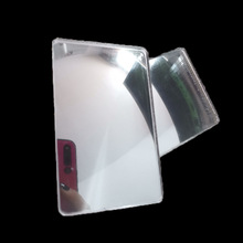 цена на 2pcs/lot 65x40mm Optical PMMA Plastic Parking Car Fresnel Lens Focal Length -350mm Wide Angle Minifier Lens ATM Anti-peep Lens