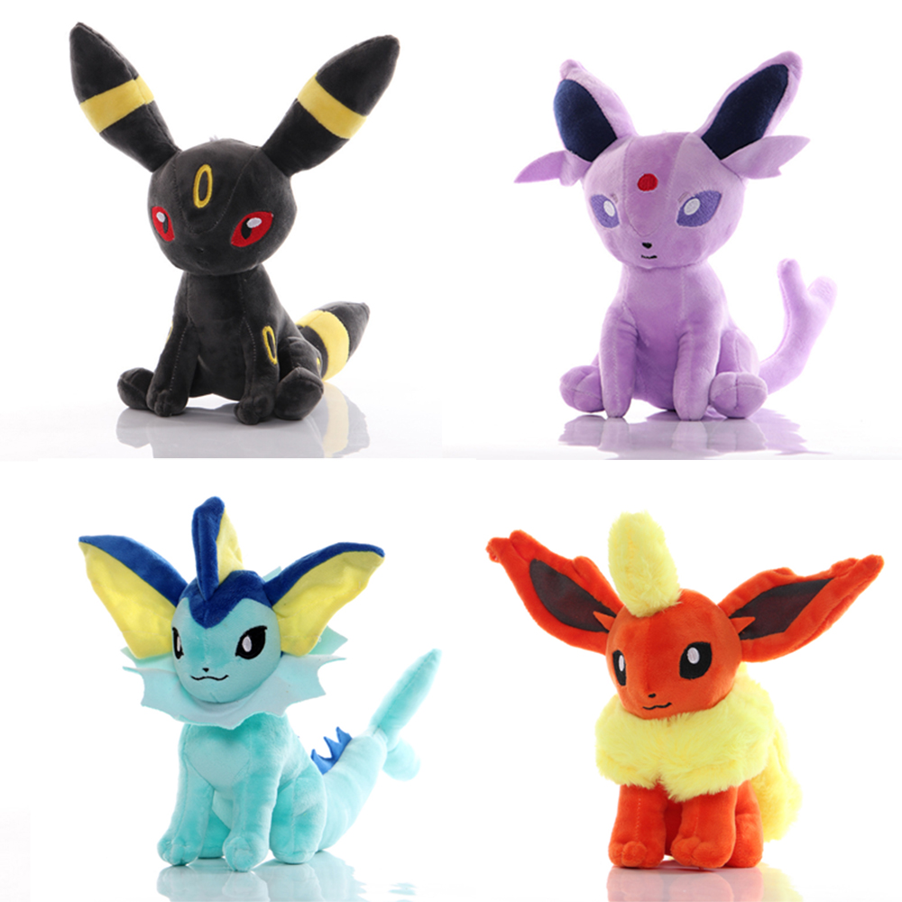 Pikachu Eevee Plush Toys Charmander Squirtle Cute Japan Anime Animals Soft Toys Doll For Children Baby Birthday Stuffe Toys Gift