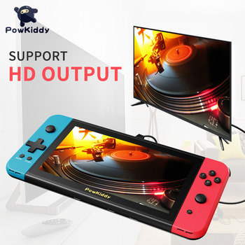 2020 Game Console Powkiddy X2 Retro Video Handheld Game Console 7inch IPS Screen 32G Built-in 2500 Games Support HD 3.5mm Output 1