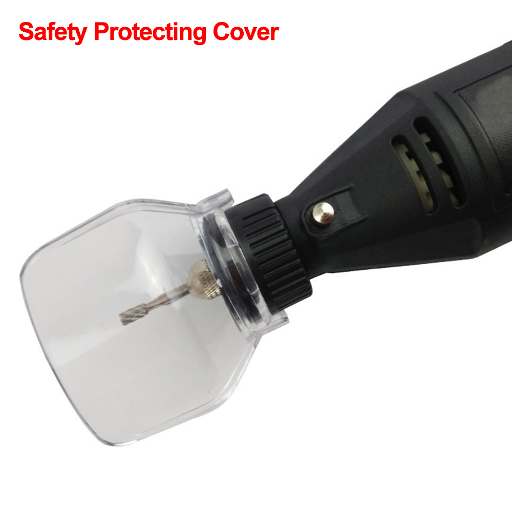 Safety Protecting Cover Shield Electric Grinding Dremel Accessories Mini Drill Holder Power Tools Accessories