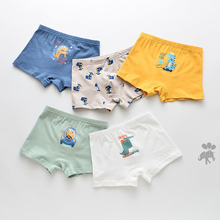 5 Pcs/lot Cartoon Boy Underwear Cotton Briefs Children Boys Underpants Kids Pants Girl Panties For Child Boxer Girls Baby Panty baby boys girls cloth diapers summer baby girls boy cotton bread pants bloomers briefs shorts panties underwear