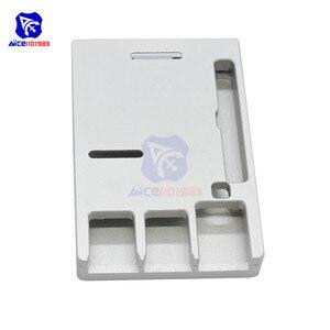 Image 4 - Raspberry Pi Model B Cnc Aluminium Case Ultra Dunne Metalen Doos Bescherming Case Voor Raspberry Pi 4 Model B Met Tool
