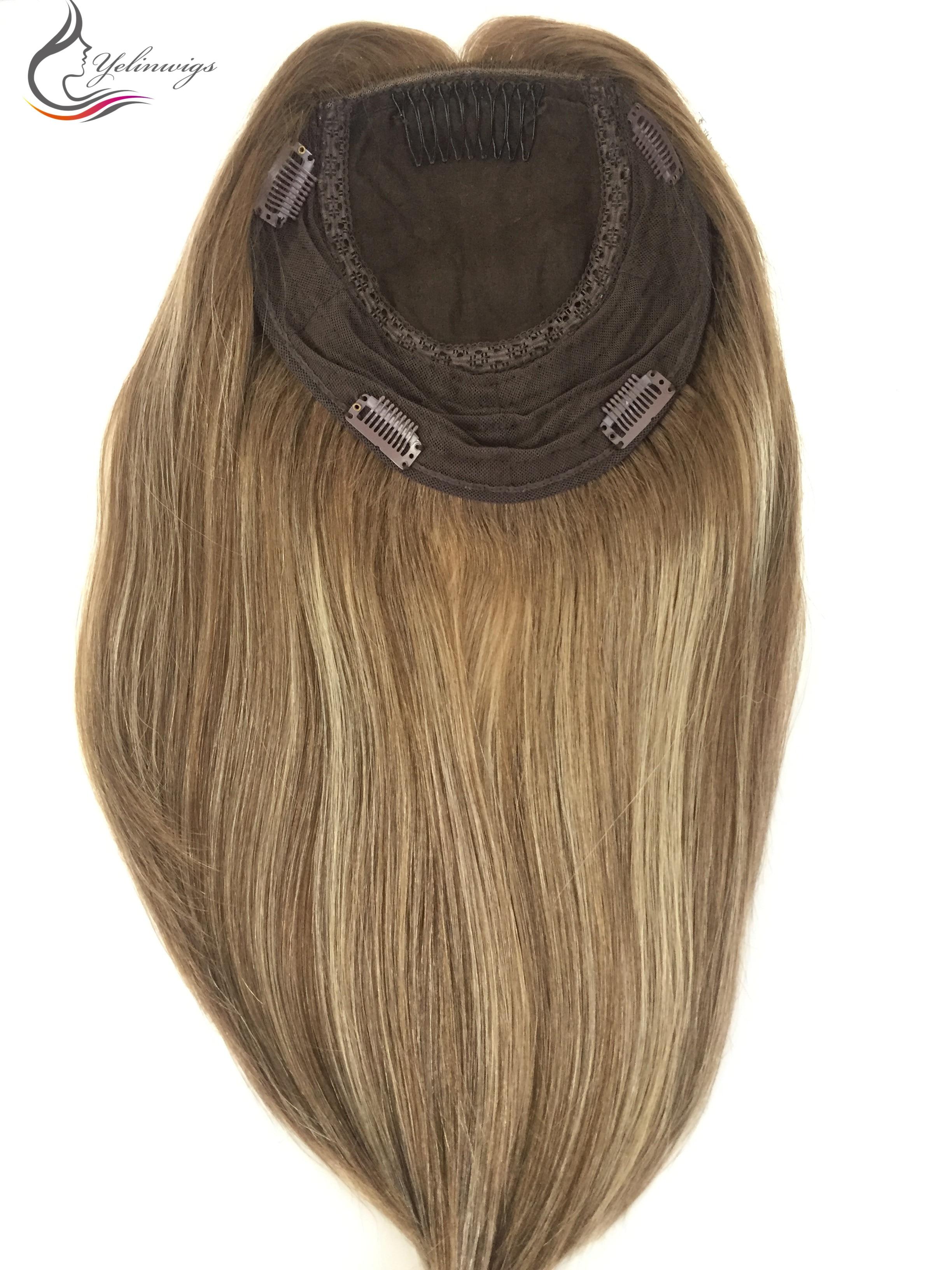 cabelo peças de alta qualidade europeu cabelo kippah queda cabelo peças