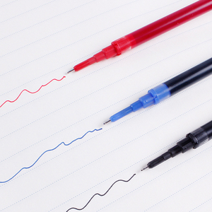 Image 5 - 12Pcs Pilot BXS V5RT(VR5) Gel Ink Pen Refill for Hi Techpoint BXRT V5/GR5 Liquid  0.5mm Rollerball  Black /Blue /Red Color