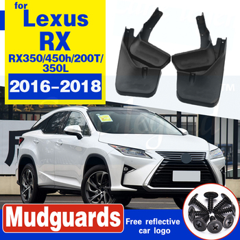 Dla LEXUS RX RX350 RX450h RX200T RX350L 2016 2017 2018 błotniki błotniki przednie tylne błotniki Fender formowane klapa błotna klapy