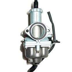 PZ30 30mm Cable Choke Carburetor Carb for Motorcycle 175cc 200cc 250cc ATV Quad Dirt Bike Go Kart (Silver)