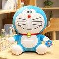 Anime quente 23/48cm suporte doraemon brinquedos de pelúcia cutecat boneca animais de pelúcia macio travesseiro brinquedo do bebê para crianças presentes doraemon figura