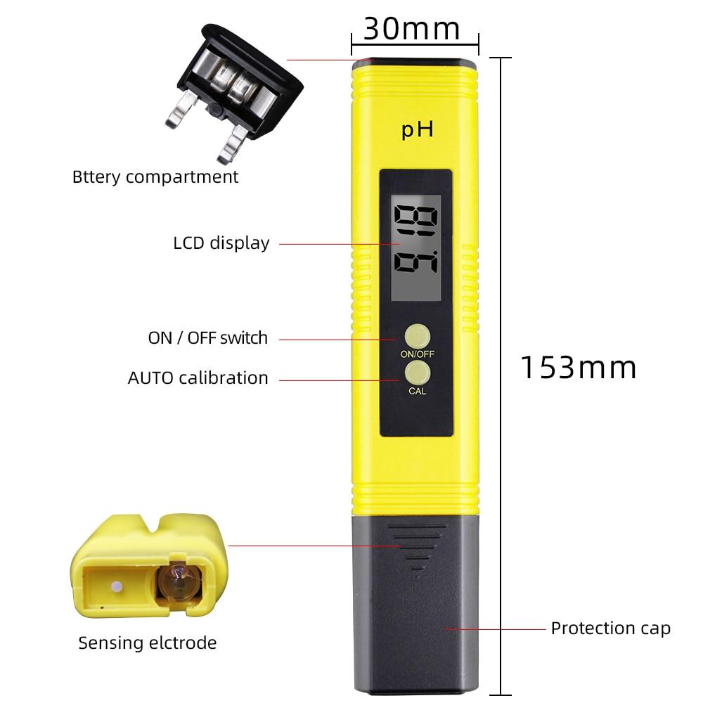 Digitaalse PH-meetri automaatne kalibreerimine 0,01 ja TDS-testija - Mõõtevahendid - Foto 3