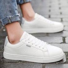 Белая кожаная обувь; Мужские кроссовки; homme; Повседневные