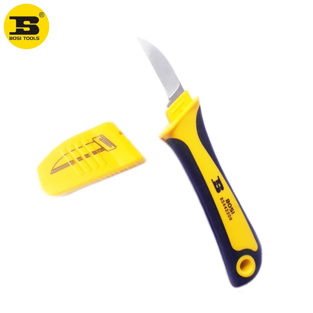 چاقوی برش سیم کشی برش سیم فولادی - ابزار دست