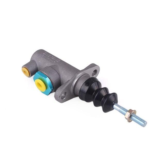 AU04  Brake Clutch Master Cylinder 0.625 Hole Thread Bar Remote for Hydraulic Hydro Handbrake M8
